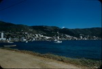 View of the city of Charlotte Amalie in Saint Thomas, Virgin Islands