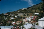 View of Government Hill in Charlotte Amalie, Saint Thomas from Hotel 1829
