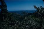 View of the mountain peaks in Saint John, Virgin Islands