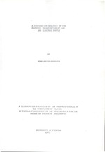 A Comparative analysis of the economic organization of gas and electric supply