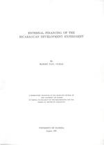 External financing of the Nicaraguan development experiment