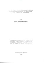 An evaluative study of a remedial program using computer diagnosis of third grade error patterns in subtraction