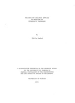 Reliability analysis applied to modeling of hydrologic processes