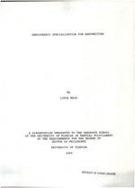 Hemispheric specialization for handwriting