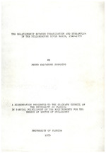 The relationship between urbanization and streamflow in the Hillsborough River Basin, 1940-1970
