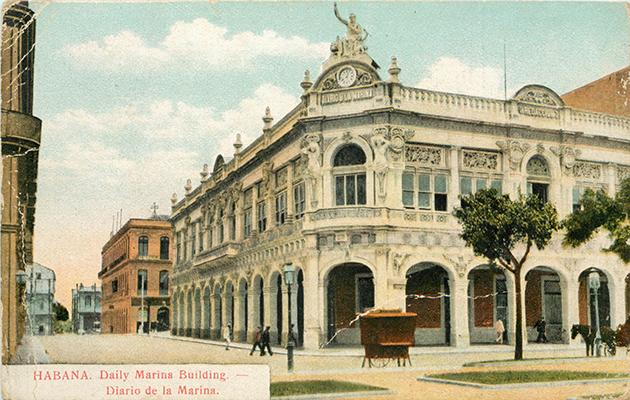Habana . Daily Marina Building - Diario de la Marina - Recto