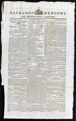 Barbados Mercury, and Bridge-town Gazette