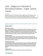 Background Information & Partnership Guidelines, dLOC