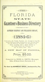 The Florida state gazetteer and business directory