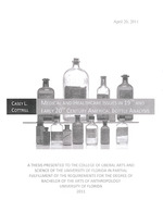 Medical and Healthcare Issues in 19th and Early 20th Century America: Bottle Analysis