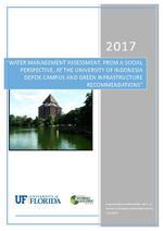 Water management assessment, from a social perspective, at the University of Indonesia Depok Campus and green infrastructure recommendations