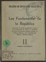 Leyes del Gobierno provisional de la revolución