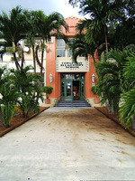 Front entrance of the Coral Way Bilingual Elementary School