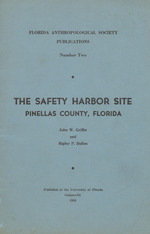 The Safety Harbor site, Pinellas County, Florida