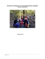Pedagogical trekking as a tool for sustainable tourism in Tilcara, Argentina
