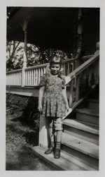 Photos for book, My Scrapbook of My Illness with Polio