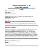 Guia de la correspondencia de B.S. Hile