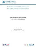 Supply chain analysis for a thermostable PPR vaccine in Karamoja, Uganda