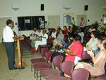 University of the Virgin Islands St. Croix...gathering of students, faculty, writers...photo by Wallace Williams
