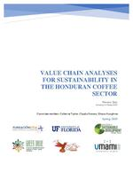 Value chain analyses for sustainability in the Honduran coffee sector