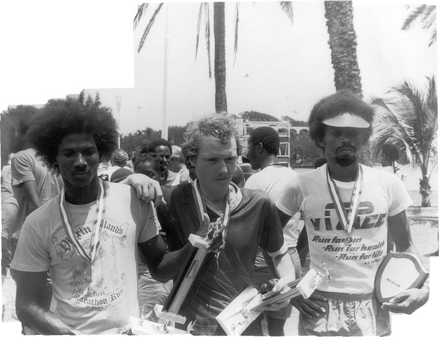 Virgin Islands Pace Runners... St. Croix, Virgin Islands USA...St. Croix Marathon...Danny Dickerson, Richard Cann and Wallace Williams... - danny dickerson richard cann wallace williams awards stx marathon.tif