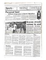 [P] Wallace Williams...St. Croix Avis Article...5K Record...April 8, 1988