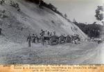 Route 2- Chargement de tombereaux au  troisieme deblai pres de petite-Saline. Sept. 1929