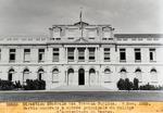 Partie centrale & entree principale du College d'Agriculture de Damien. Nov. 1929