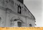 Details de la facade principale de l'Eglise de Hinche. Aout 1929