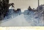 Route 2. Petit-Goave- Miragoane. La route actuelle, aViallet  que suit le nouveau trace. Avril 1930