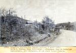 Route 2 Nouveau trace Petit - Goave - Miragoane. Camp de Carffour Desruisseaux , pres Miragoane, ou les plans furent dresses. Avril 1930