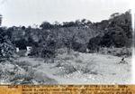 Route 2.- Sect. Grand-Goave-pt.-Goave .- Degradations a la route actuelle traversant  La Digue , pres pt-Goave. Nov. 1929