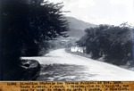 Route 2.- Section p.- au.-P.- Bizoton .- Rues Egalite vue vers le point de depart  du leve; a gauche, le Cimetiere. . Nov. 1929