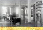 Centrale du Telephone automatique  P.-au-P. Batis de preselecteurs et de selecteur et table d'essai. Nov. 1929