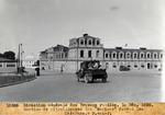 Section de mitailleuses des ''Marines'' devant les Casernes.- P.-au-p. Dec. 1929