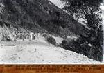 Route petion ville- Kenscoff (tete de l'eau ) - Section- en Construction-  Km.0.600 environ de Petion-ville.   Janv 1930