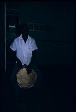 "A gentleman playing ""tambour"""