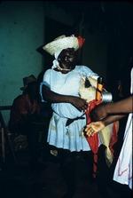 Voodoo priest's wife