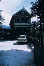 Entrance of a house in Haiti