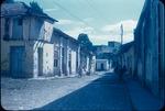 Old dusty road in Trinidad