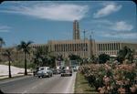 Large building in Havana, Cuba