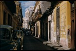 Havana side street and Presidential Palace