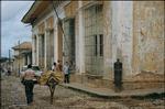Cobblestone street in Trinidad.