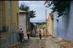 Old cobblestone street in Trinidad