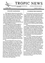 Tropic news. Volume 6. Issue 1.