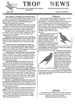 Tropic news. Volume 6. Issue 6