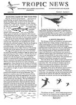Tropic news. Volume 6. Issue 9.