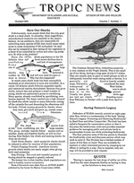 Tropic news. Volume 7. Issue 1.