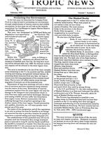 Tropic news. Volume 7. Issue 5.