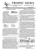Tropic news. Volume 8. Issue 8.